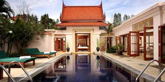 exclusive all villa wing of one of phukets finest resorts