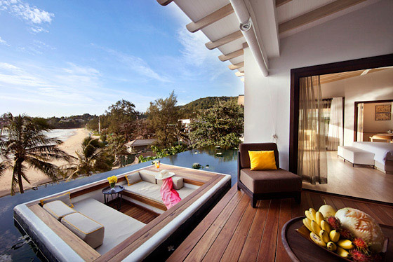 The shore at katathani resort phuket beach luxury - Extraordinary and relaxing rooftop pools ideas ...
