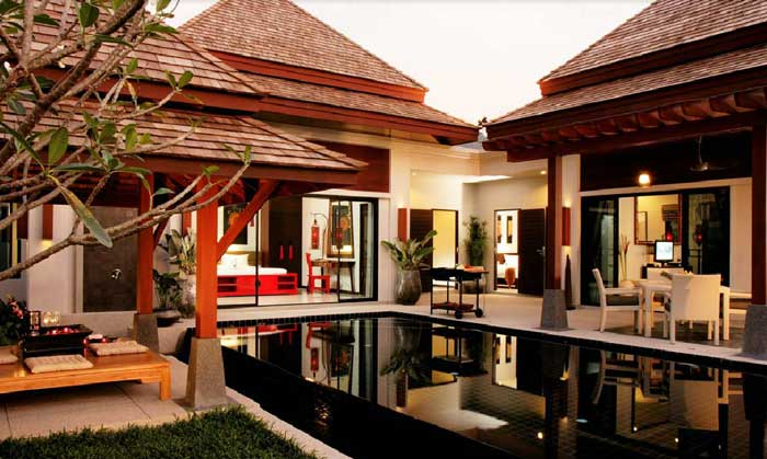 Bell pool villa resort phuket beach luxury for Small private hotels