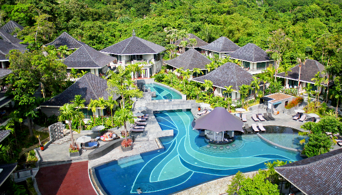 Luxury Resort Set On Acreage Offering Privacy